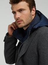 Image sur Manteau laine intérieur détachable