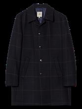 Image sur Manteau laine motif à carreaux
