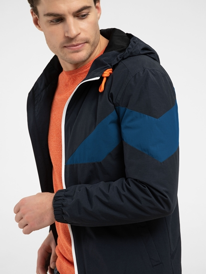 Bild von Windjacke in Colourblock-Optik