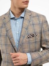 Bild von Veston im Tailored Fit mit Karo