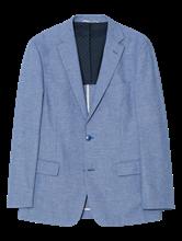 Image sur Veston motif Fil a Fil et coudières