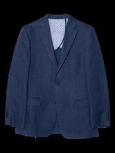 Image sur Veston Custom Fit avec imprimé chevrons