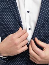 Bild von Jersey Veston im Slim Fit mit Micro-Muster