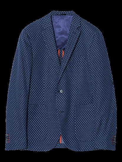 Image sur  Veston jersey Slim Fit à micro-motif