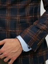 Image sur Veston  Slim Fit motif à carreaux