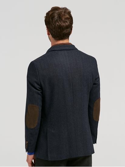 Image sur Veston motif à chevrons et doublure détachable