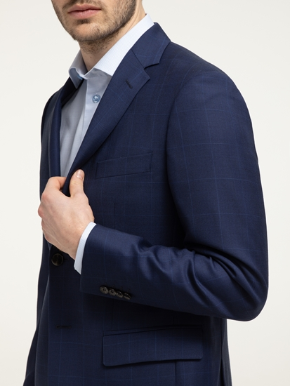 Bild von Anzug mit Glencheck-Karo