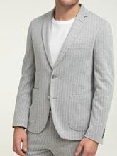 Image sur Jersey Anzug im Slim Fit mit Streifen