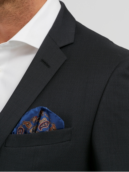 Bild von Anzug 2-teilig im Slim Fit mit Micro-Print