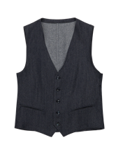 Bild von Gilet in Denim Optik