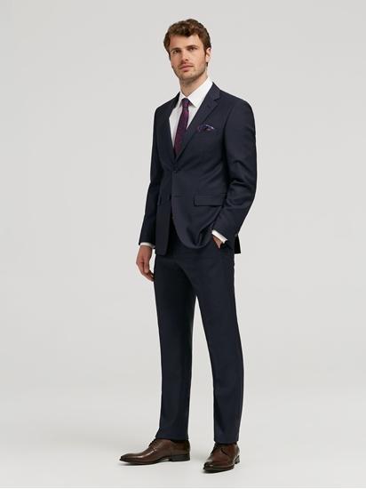 Bild von Anzug 2-teilig im Tailored Fit mit Struktur