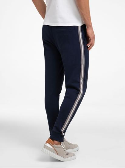 Image sur Pantalon de jogging avec rayure latérale