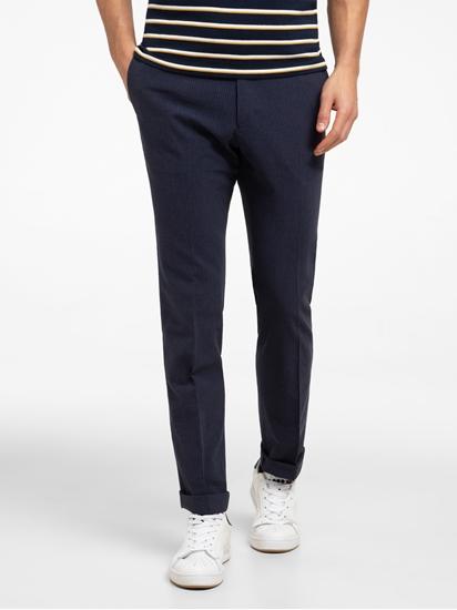 Image sur Pantalon chino à fines rayures