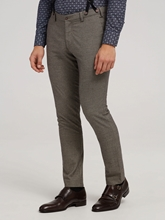 Bild von Hose mit Micro-Muster und abnehmbaren Hosenträgern