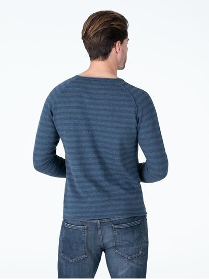 Image sur Pullover à rayures