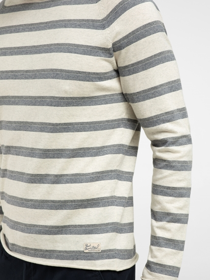 Image sur Pullover Slim Fit à rayures