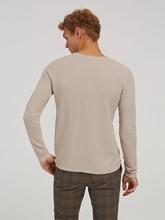 Bild von Pullover mit Struktur im Slim Fit