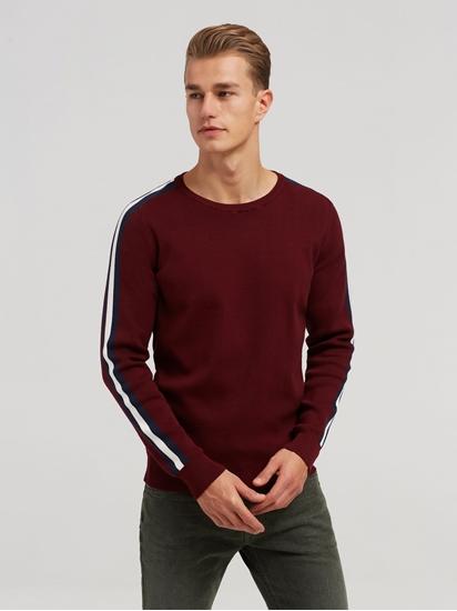 Image sur Pullover Slim Fit et manches à rayures