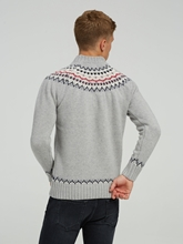 Image sur Pullover im Custom Fit mit Norweger-Muster