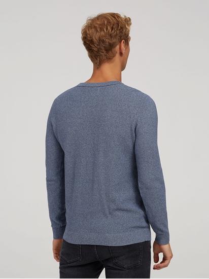 Bild von Pullover im Slim Fit in melierter Optik