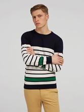 Bild von Pullover im Custom Fit mit Streifen