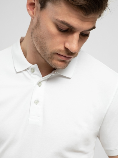 Image sur Polo coton piqué Slim Fit
