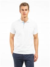 Bild von Polo-Shirt aus Piqué mit Kontrast-Kragen