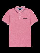 Bild von Polo-Shirt im Custom Fit in melierter Optik