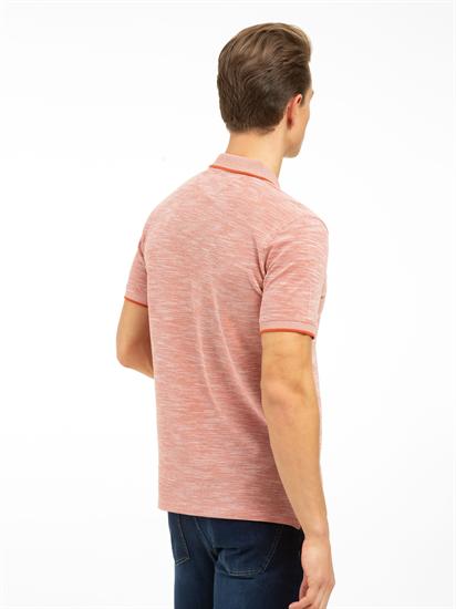Bild von Polo-Shirt im Custom Fit aus Piqué mit Struktur