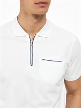 Image sur Polo coton piqué col contraste