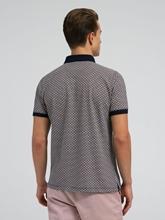 Bild von Polo-Shirt aus Piqué mit Print