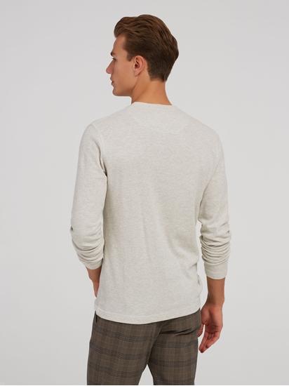 Bild von Langarmshirt im Slim Fit Basic