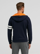 Image sur Veste sweat Slim Fit avec applications
