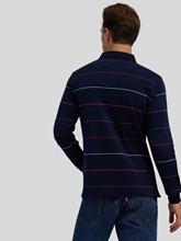 Image sur Polo manches longues à rayures