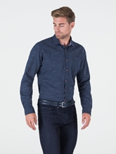 Bild von Hemd im Slim Fit in Denim-Optik