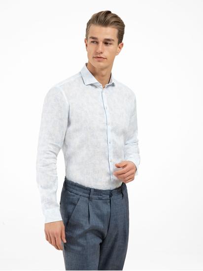 Image sur Chemise Slim Fit avec motif