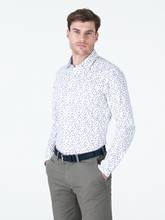 Bild von Hemd im Slim Fit mit Struktur und Print