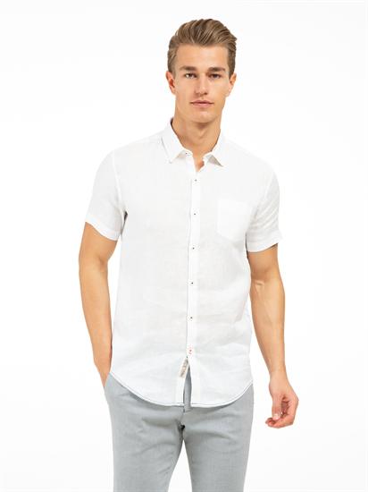 Bild von Hemd im Slim Fit aus Leinen