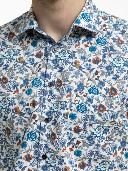 Image sur Chemise imprimée floral Custom Fit