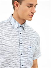 Image sur Chemise Custom Fit avec imprimé floral