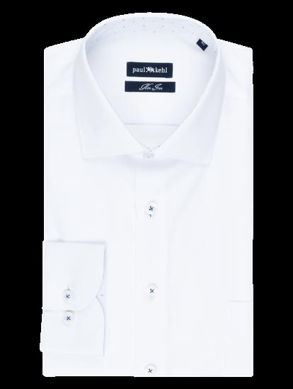 Bild von Hemd im Custom Fit mit Struktur