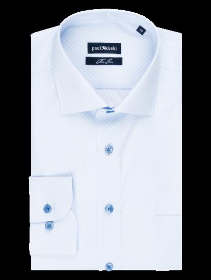 Bild von Hemd im Custom Fit mit Micro-Print