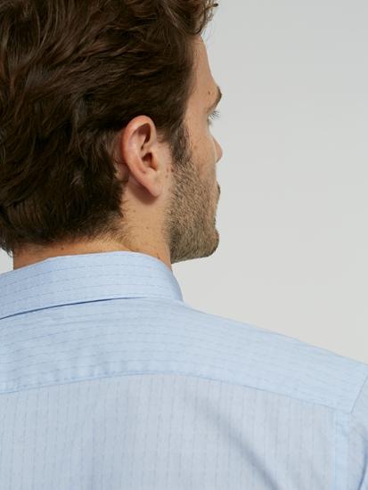 Bild von Hemd im Slim Fit mit Micro-Print