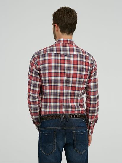 Image sur Chemise Slim Fit motif à carreaux