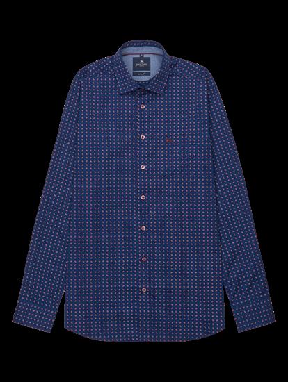 Bild von Hemd im Custom Fit mit Paisley-Print