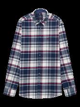 Image sur Chemise flanelle Custom Fit à carreaux