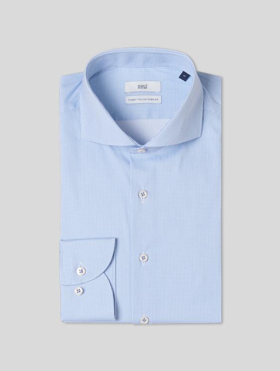 Bild von Hemd mit Stretch im Super Slim Fit