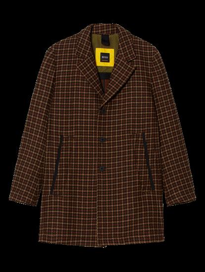 Bild von Mantel mit Karo-Muster