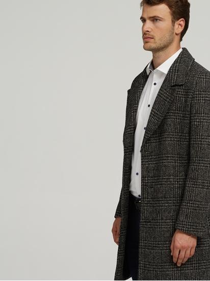 Image sur Manteau en laine à carreaux