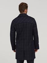 Image sur Manteau laine à carreaux